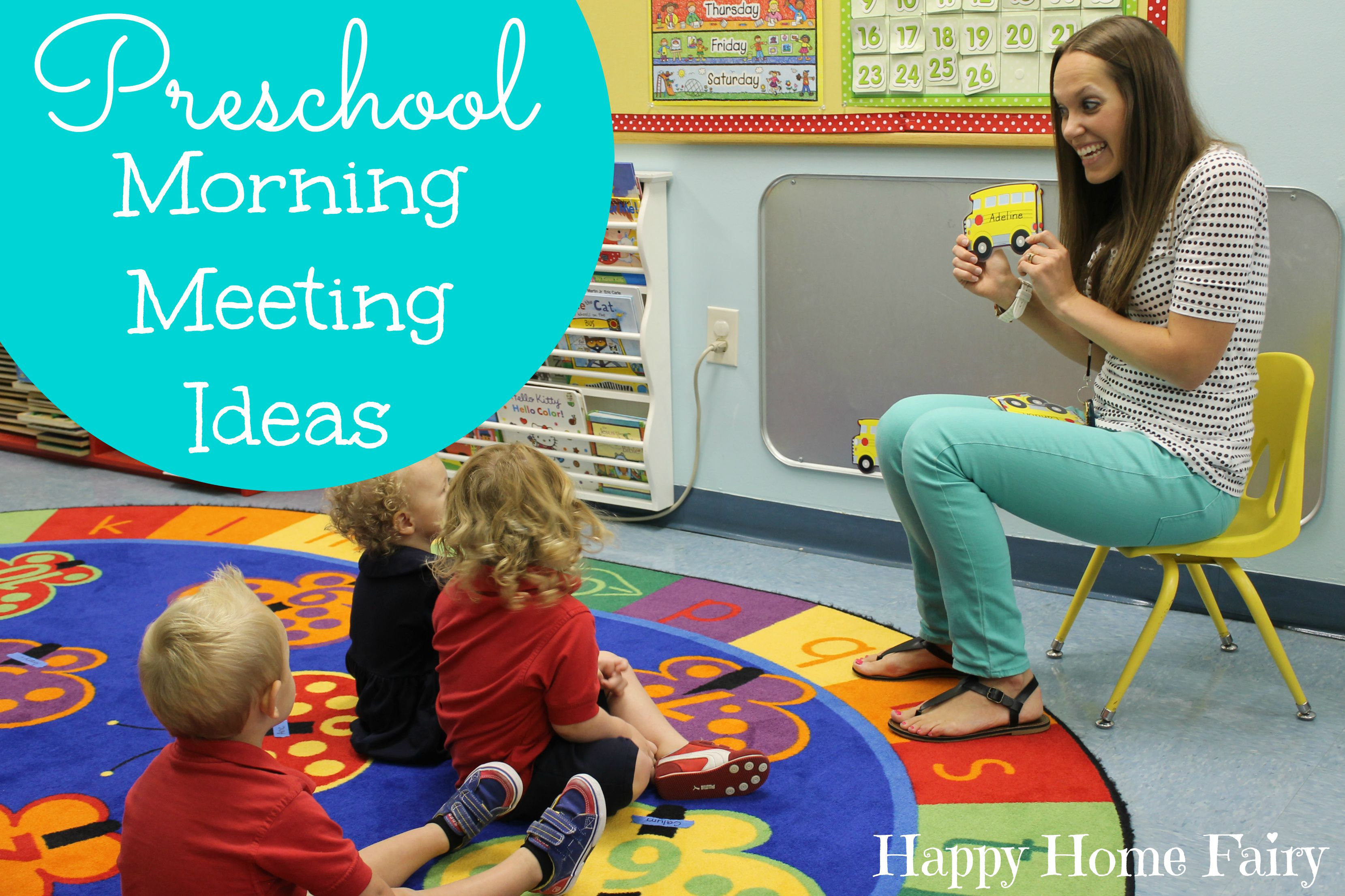 Does Pre K Make Any Difference >> Preschool Morning Meeting Ideas Happy Home Fairy