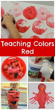 Teaching Colors – Red