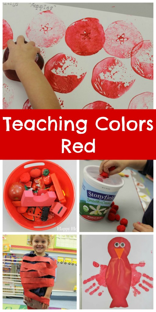 Teaching Colors Red