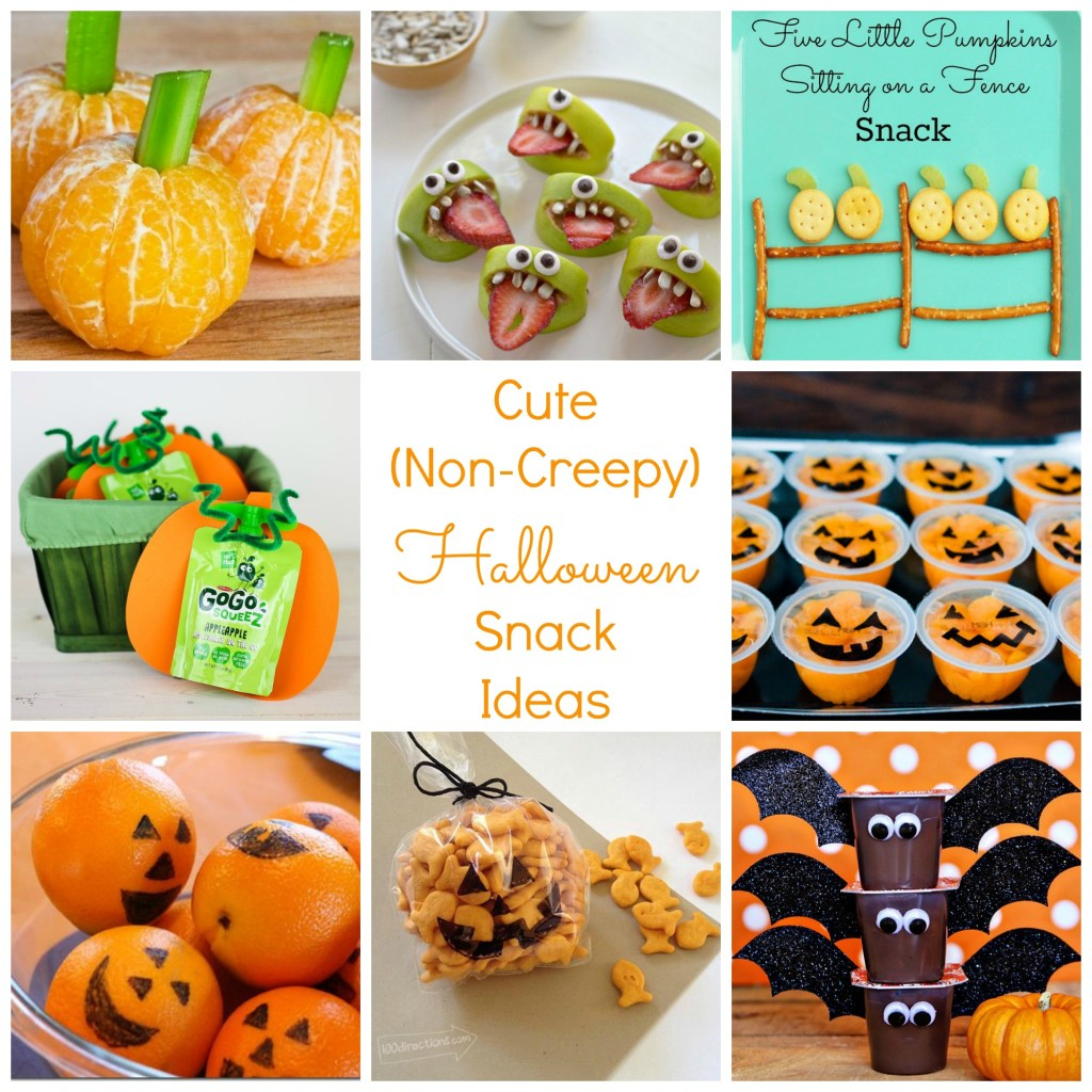 cute halloween snack ideas - perfect for class parties!