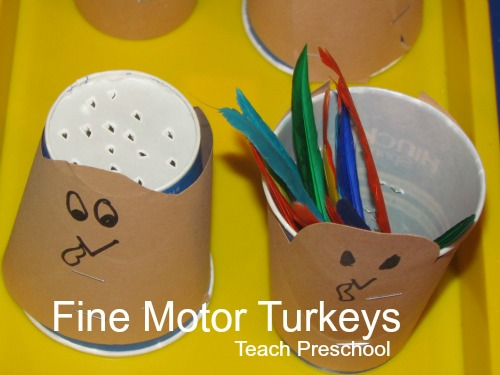 Fine-Motor-Turkeys