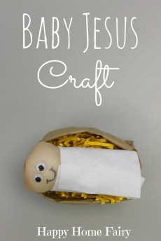 Baby Jesus Craft
