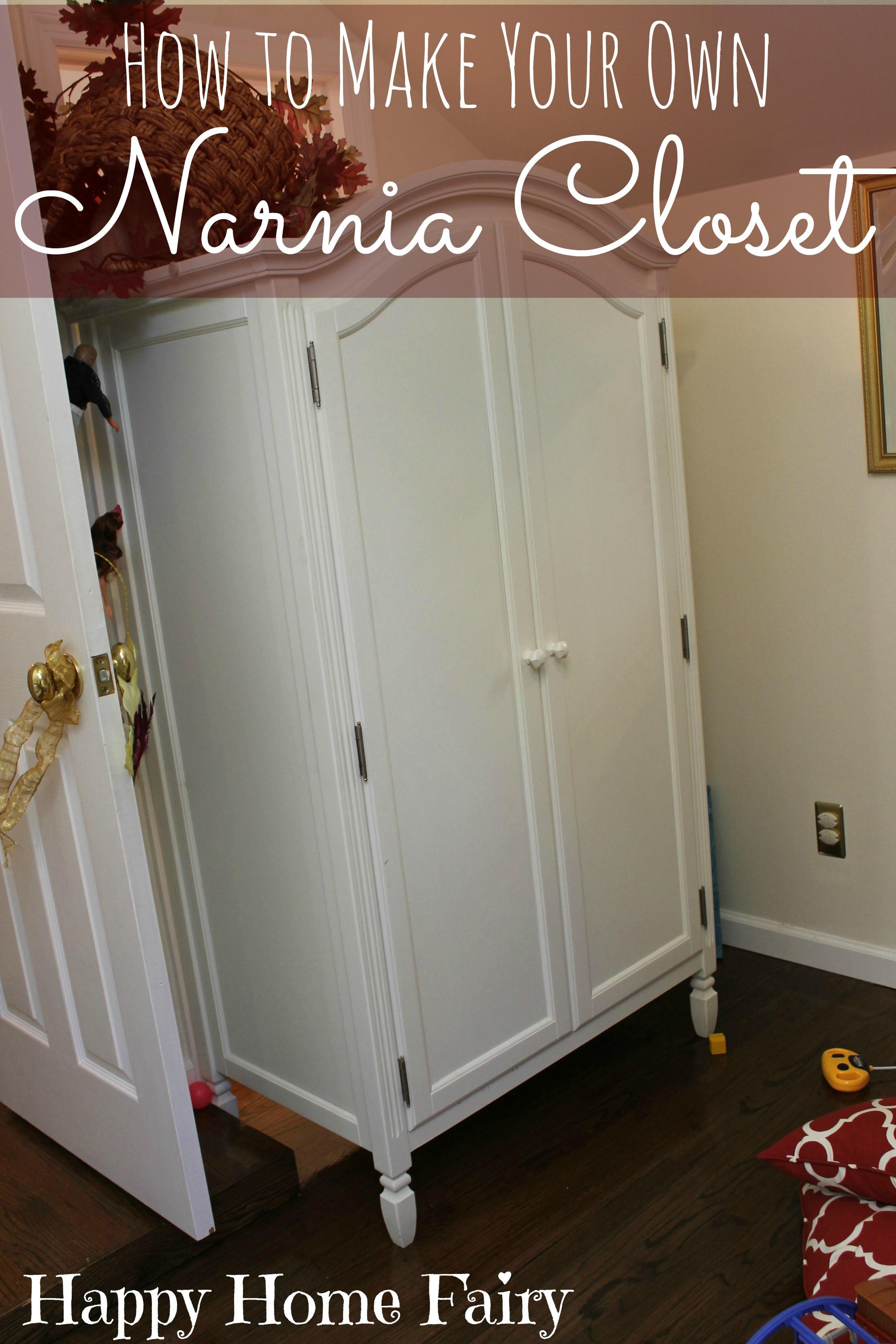 How To Make A Narnia Closet Happy Home Fairy