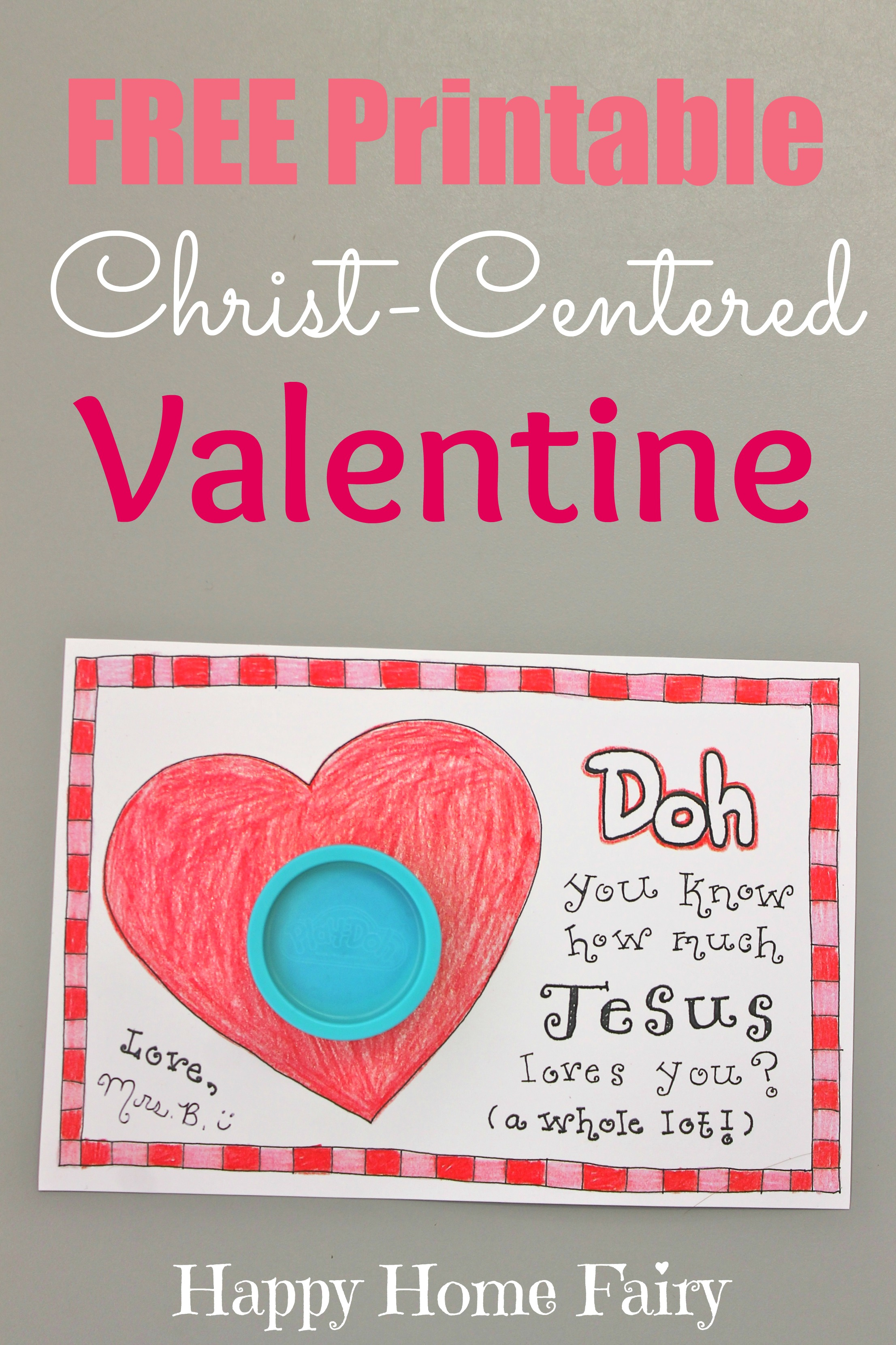 Christ Centered Valentine