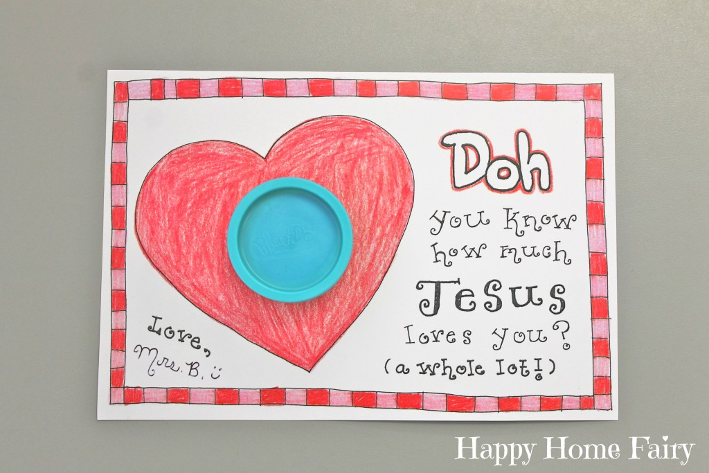 FREE Printable Christ-centered Valentine!