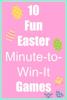 Fun Easter Minute-to-Win-It Game Ideas
