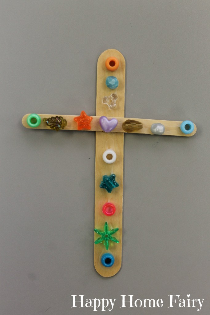simple cross craft - love this!