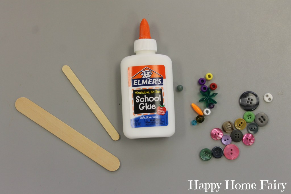 simple cross craft supplies