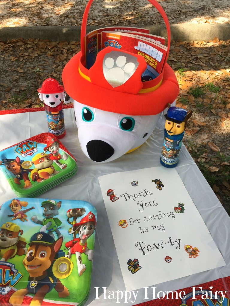 Paw Patrol Party 1