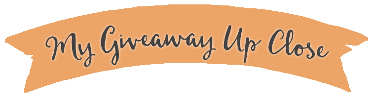 My giveaway