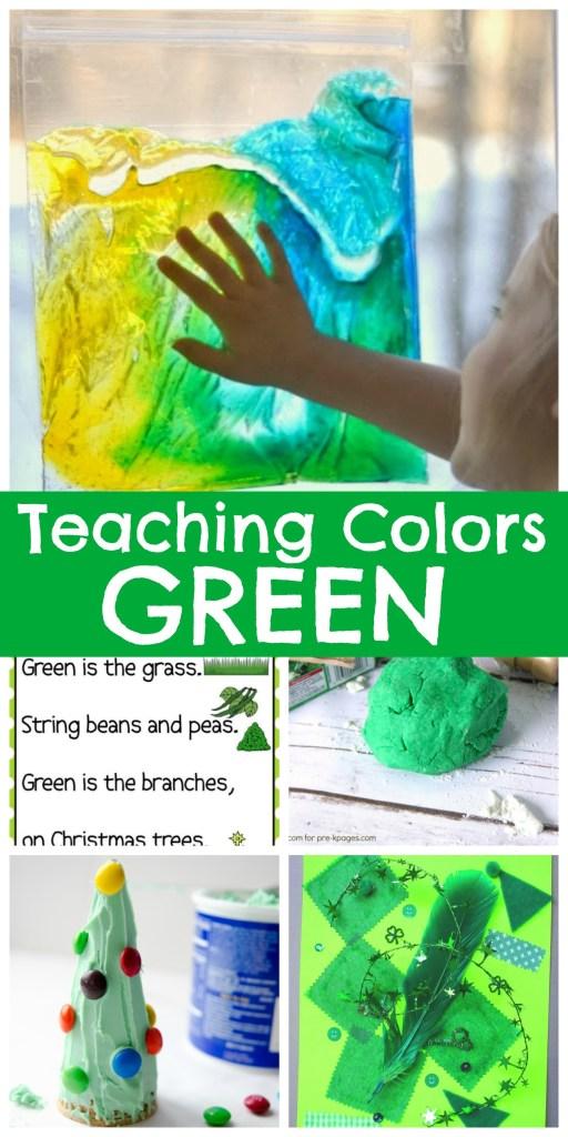 Teaching Colors GREEN