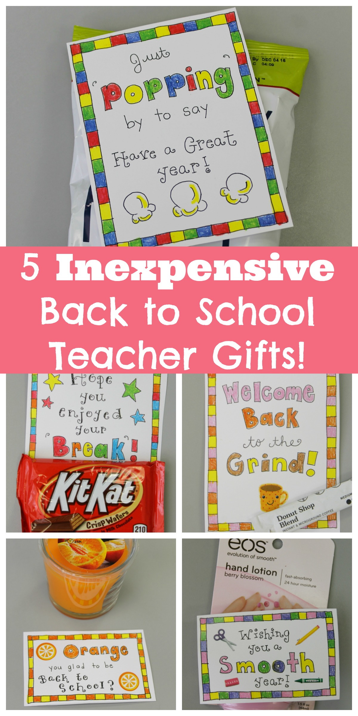 5 Inexpensive Back To School Ts For Teachers
