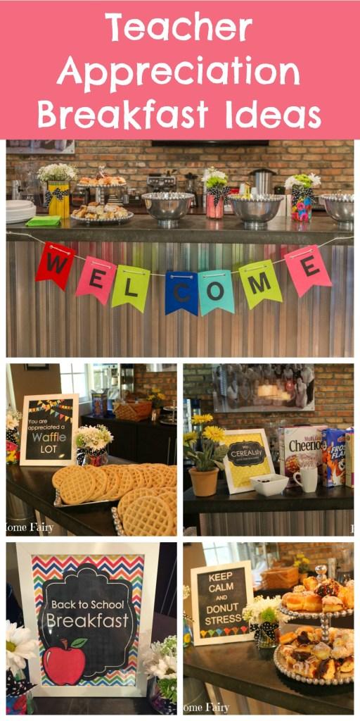 4 Days of Teacher Appreciation Breakfast Ideas - Happy ...