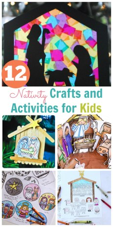 Nativity Crafts and Activities for Kids