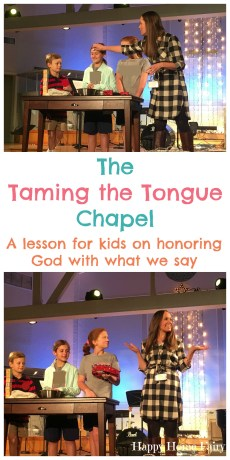 The Taming the Tongue Chapel