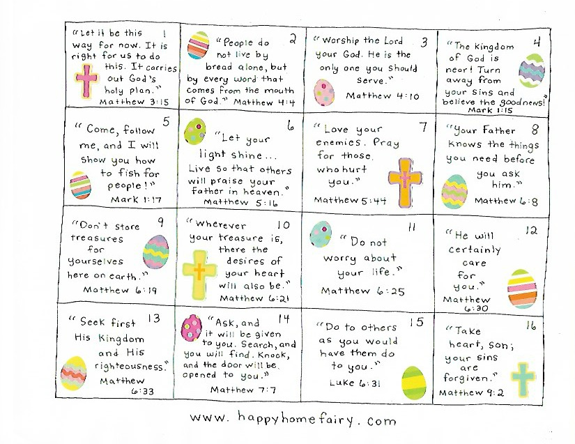 Download Countdown to Easter - 40 Days of Jesus' Words for Kids ...