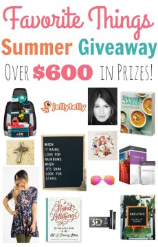 Favorite Things Summer Giveaway and Blog Hop!