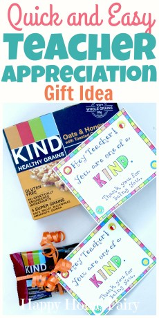 Last-Minute Teacher Appreciation Gift Idea – FREE Printable