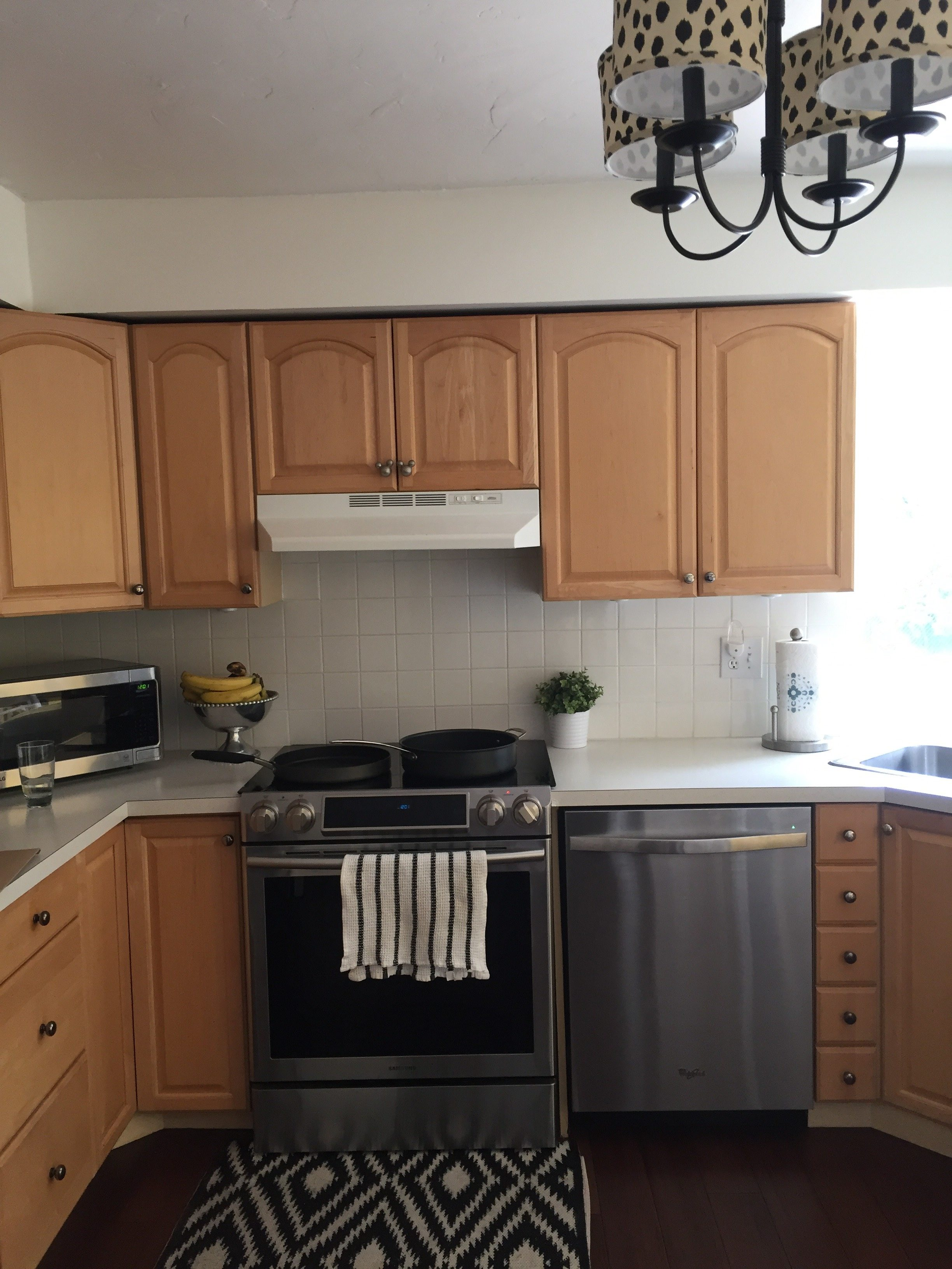 How to Paint Kitchen Cabinets - Happy Home Fairy