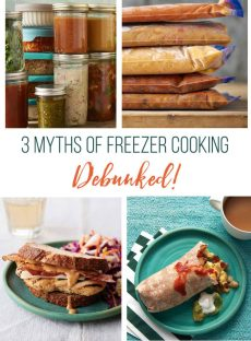 3 Myths of Freezer Cooking – DEBUNKED (Guest Post)