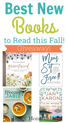 Best New Books Out for Fall – GIVEAWAY!