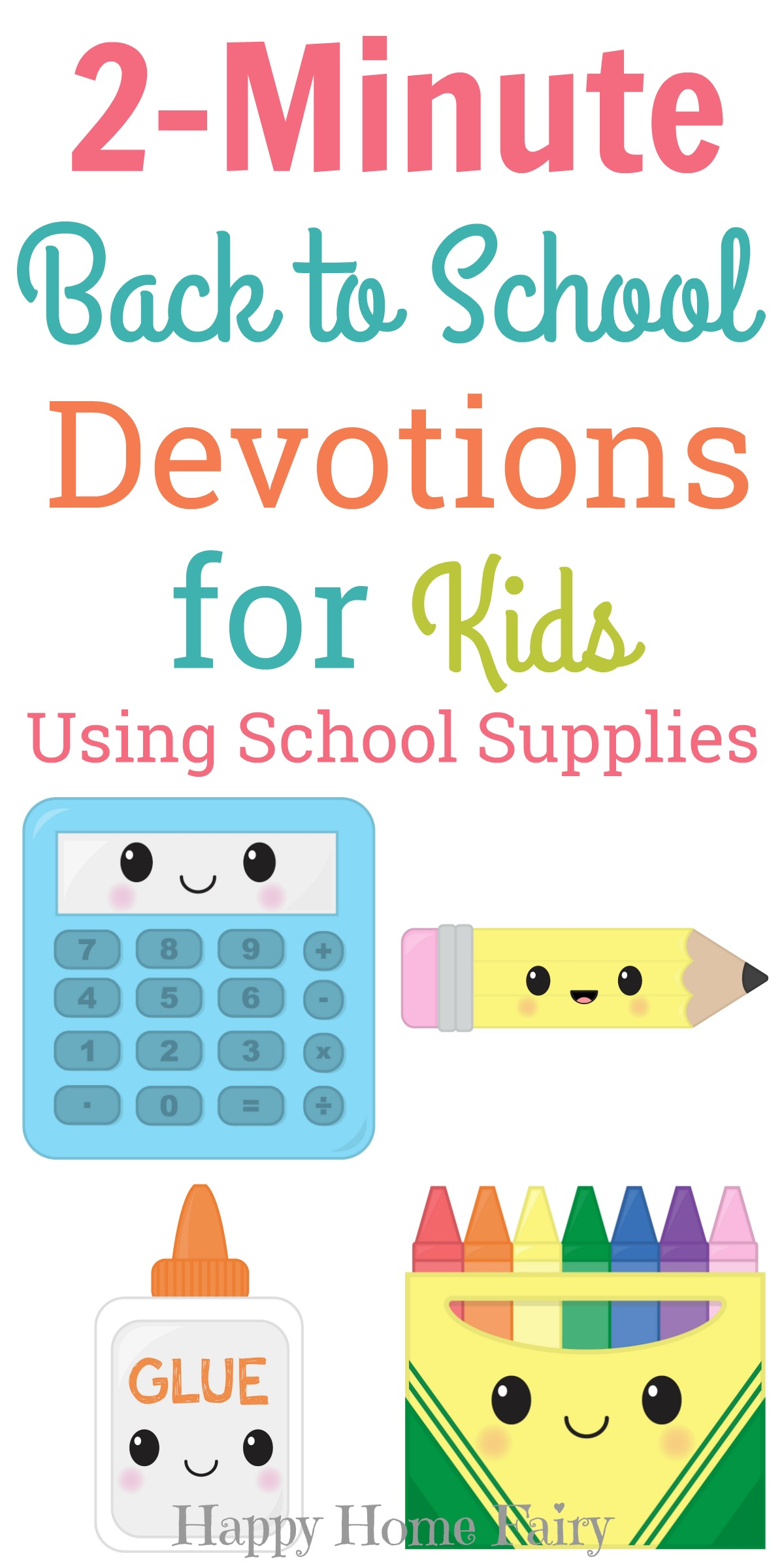 2 Minute Back To School Devotions For Kids