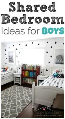 Shared Bedroom Ideas for Boys