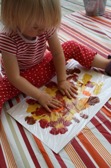 Fabulous Fall Collage For Toddlers Happy Hooligans