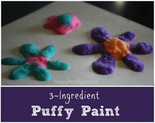 3 Ing Homemade Puffy Paint