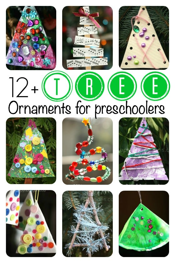 Toddlers Ornament Christmas Projects