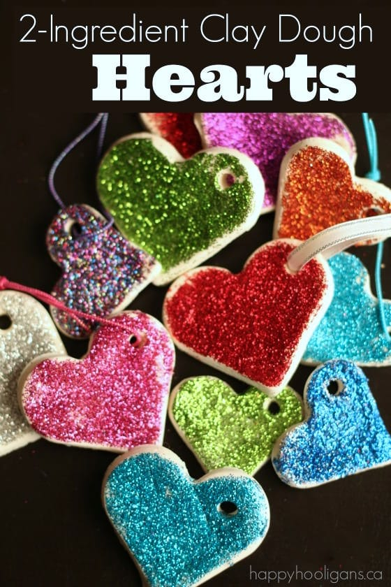 Sparkling Valentines Ornaments Happy Hooligans