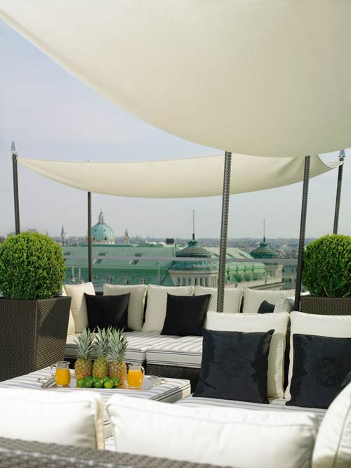 Sacher Top Terrace