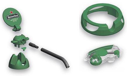 Heineken 5L DraughtKeg Tap