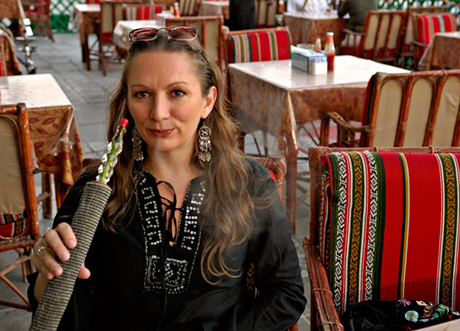 Lara Dunston Dubai Sheesa