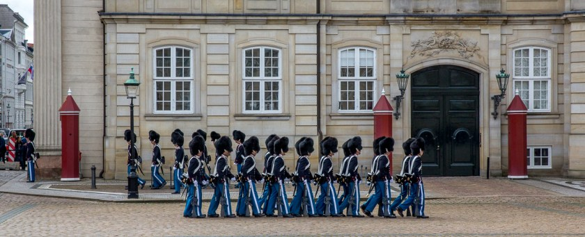 Changing of the Guard in Copenhagen 08