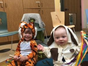 Spot's First Halloween!