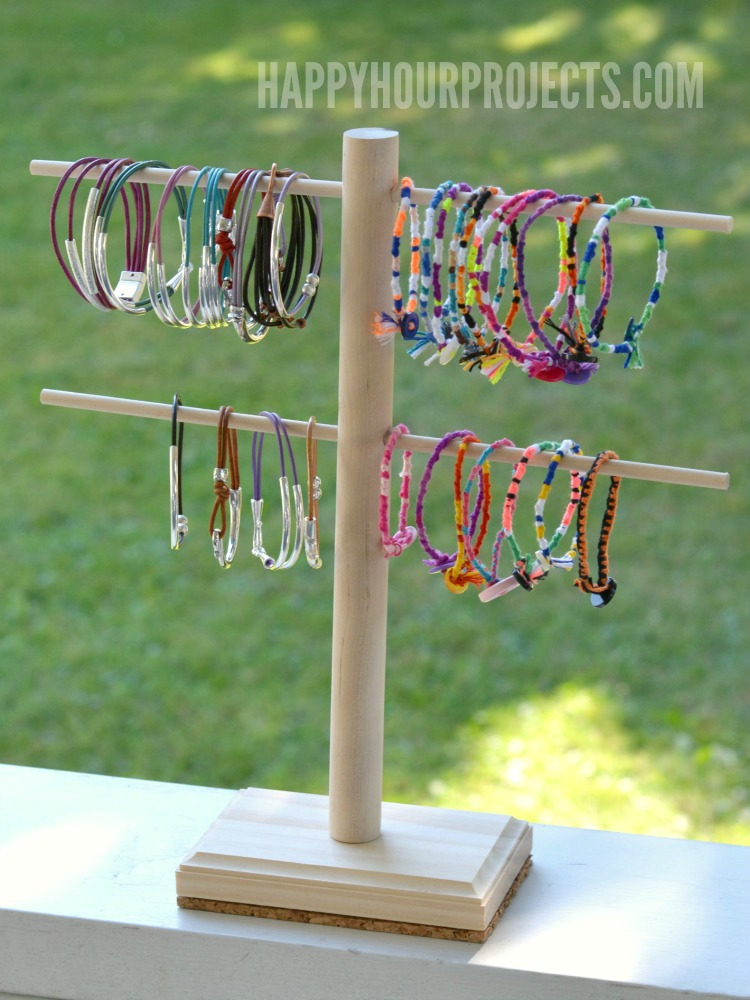 Diy Jewelry Display Stand Happy Hour Projects
