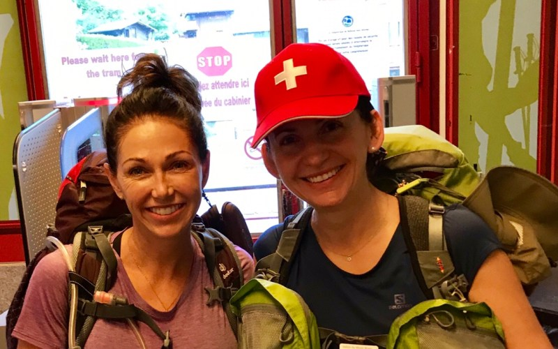 TMB Day 1 Les Houches to La Refuge de Miage The High Route
