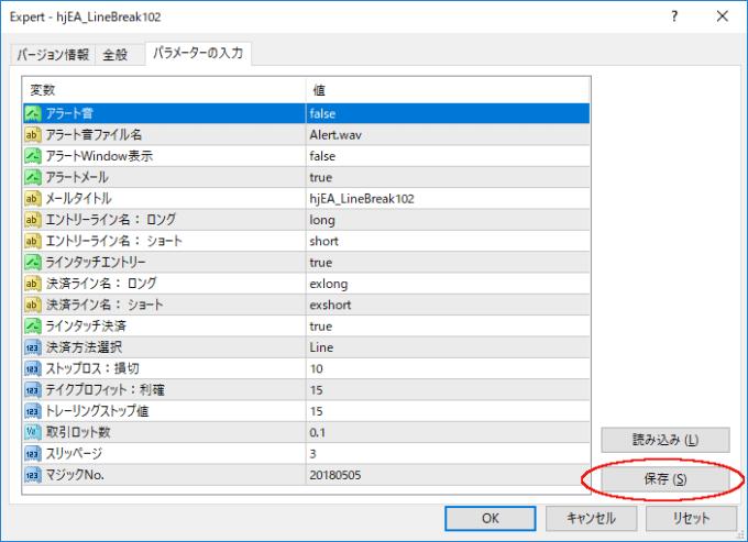 MT4-EA-Parameter