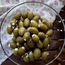 Cream Cheese Stuffed Olives