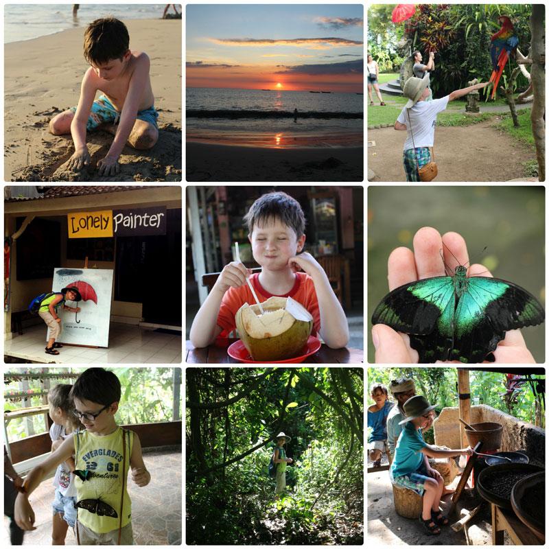 Чем заняться на Бали с ребенком