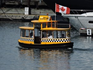 Cute little H2O Water Taxi in the Inner Harbour