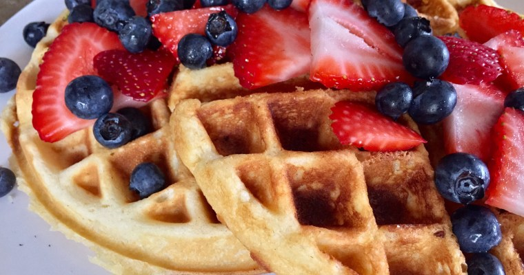 Berry Delicious Belgian Waffles