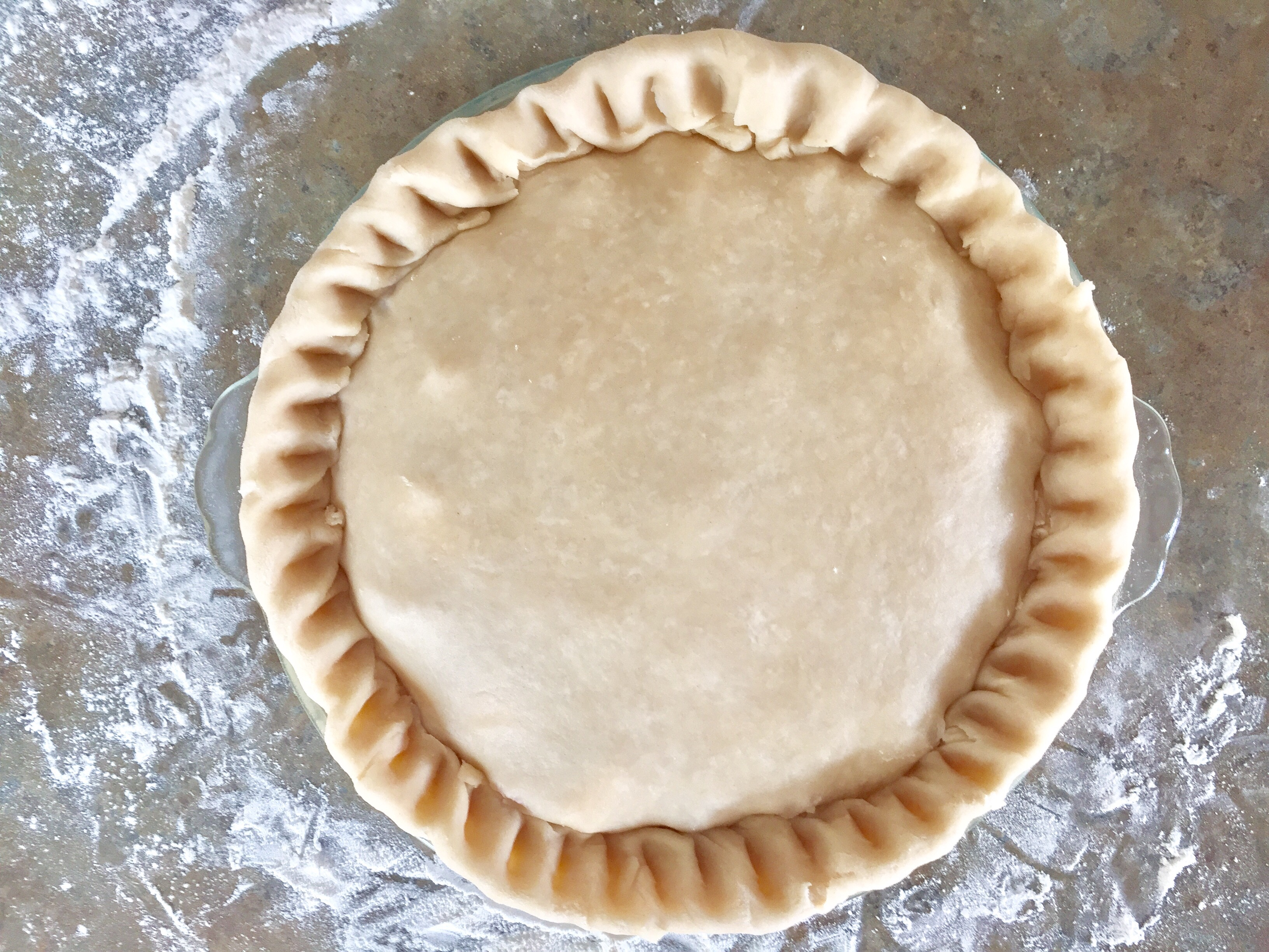 Pie Crust Just Like Grandma Used To Make