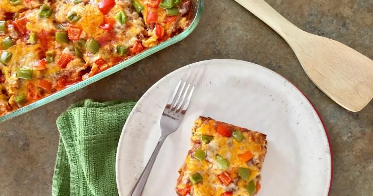 Pizza Zucchini Casserole