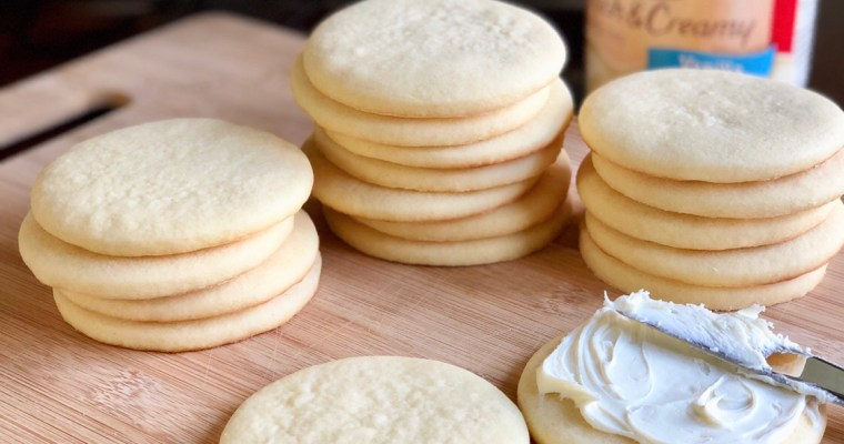 Soft Cut Out Cookies