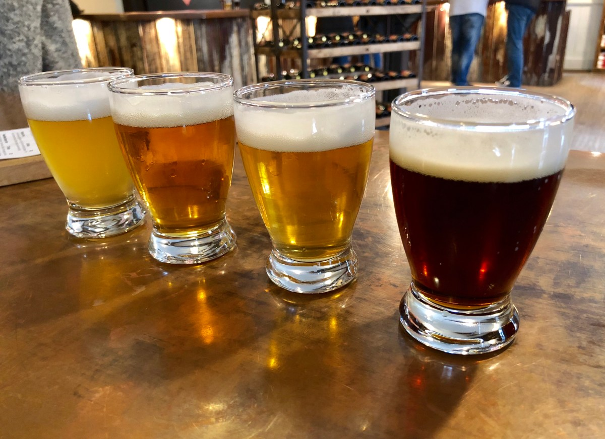 Create your own beer flight at Oast House Brewers