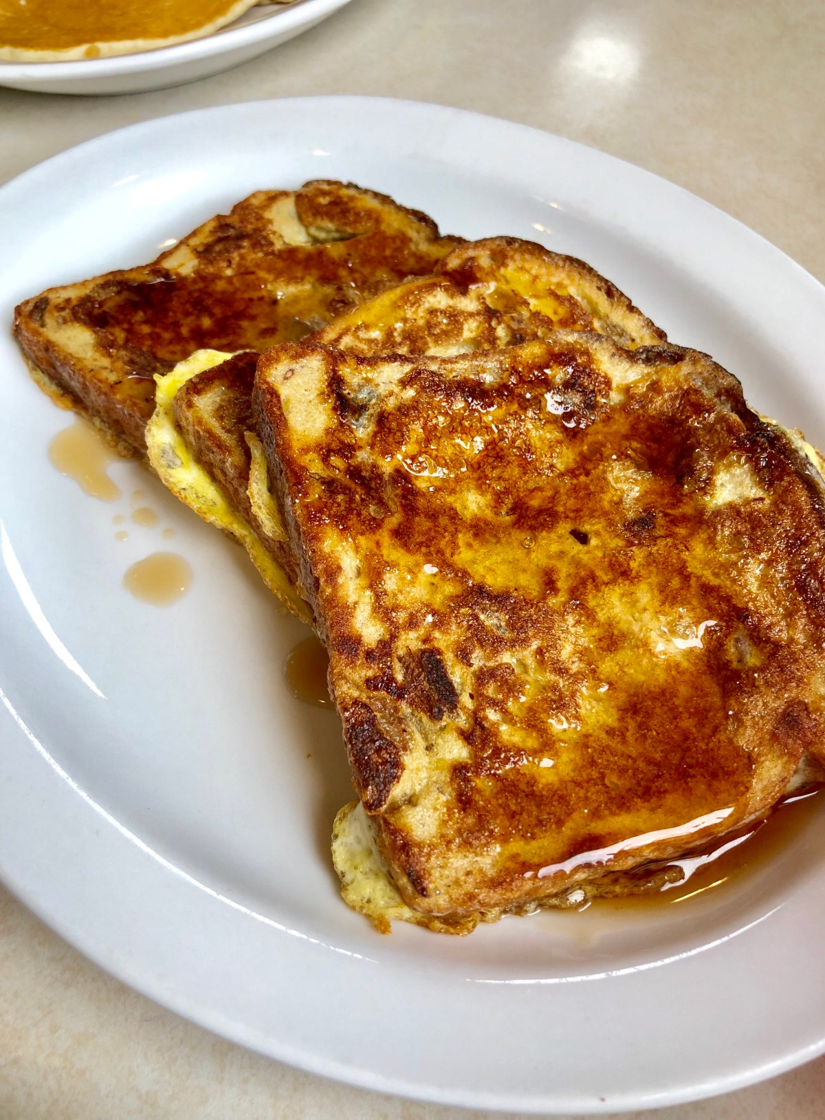 Cinnamon Raisin French Toast at the Little Red Rooster