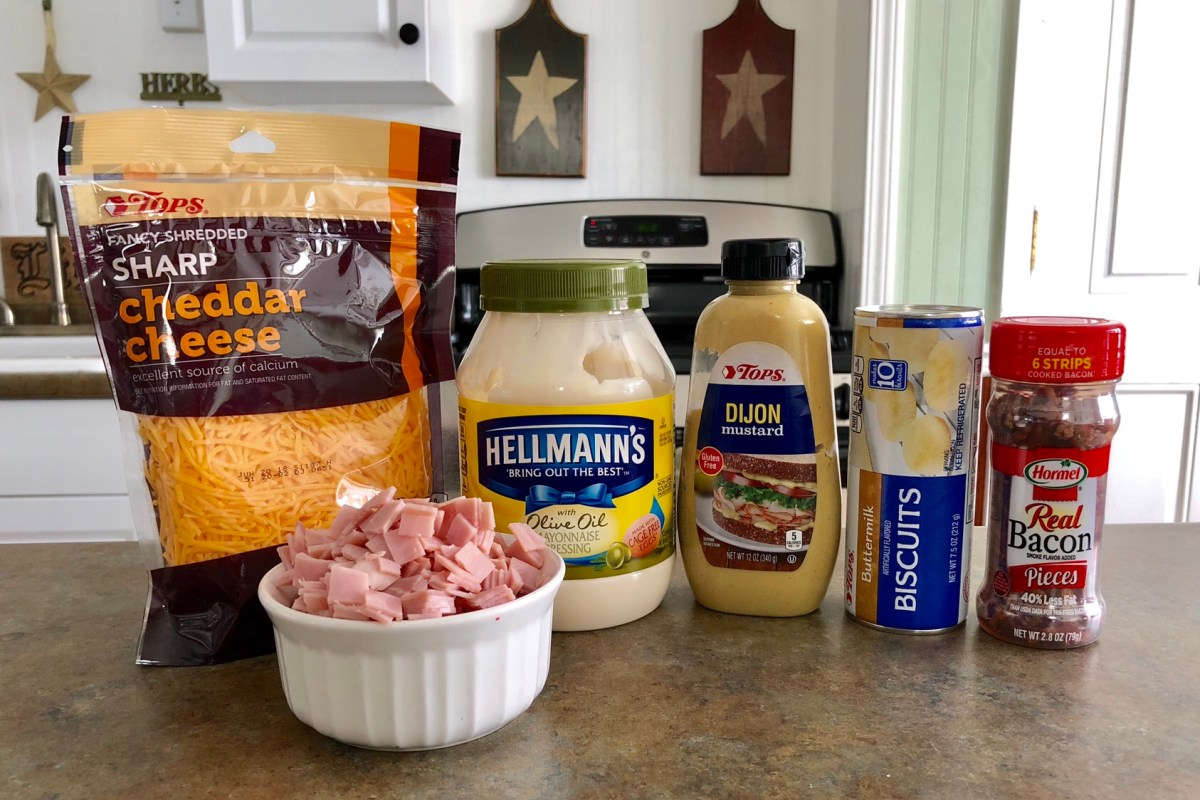 Mini Ham and Cheese Bites ingredients list