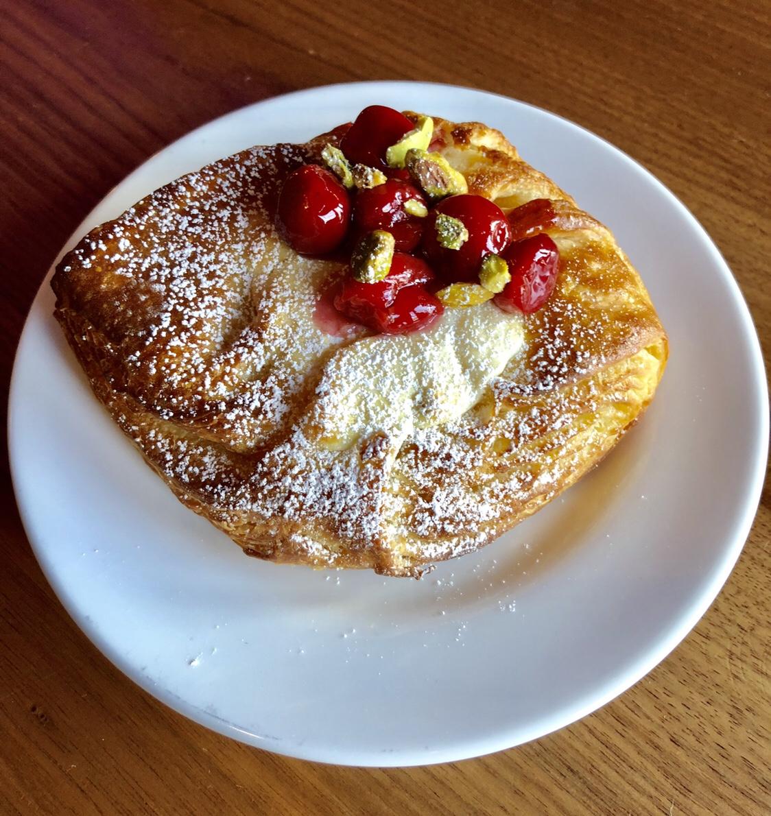 Pastry from Rowhouse Bakery #rowhousebakery #buffalo #buffalony #buffalobakery #buffalofood
